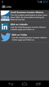 SBIA Small Business Investor apk screenshot