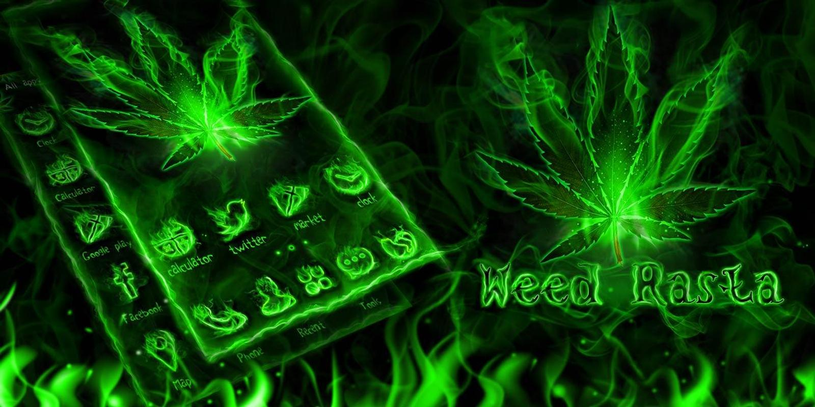 Weed Rasta GO Launcher Theme APK Download - Free
