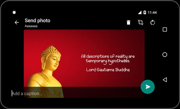 Quote of Lord Buddha in HD apk screenshot