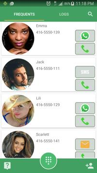 FaceToCall - Dialer & Contacts poster