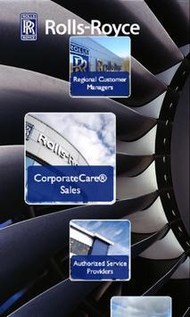 Rolls-Royce MyAeroengine App poster