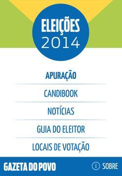 Gazeta Eleições 2014 poster