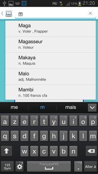 Dico Nouchi Béta apk screenshot