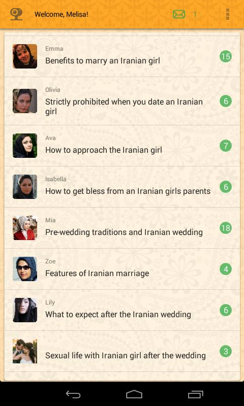 dating app iran