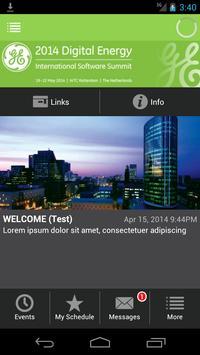 DE Software Solution Evnt 2014 poster