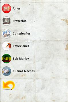 Frases para Compartir apk screenshot