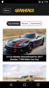 Gearheads - Automobile News poster