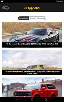 Gearheads - Automobile News apk screenshot