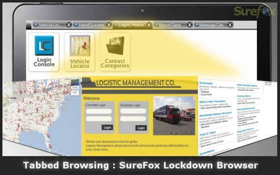 SureFox Kiosk Browser Lockdown apk screenshot