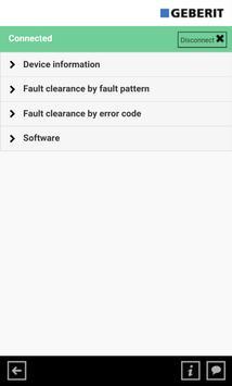 Geberit AquaClean ServiceApp apk screenshot