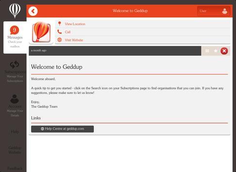 Geddup apk screenshot