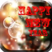 happy new year 2017 icon