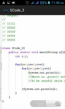 S Codes - SourceCodes for Java apk screenshot
