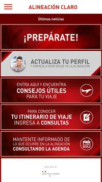 Alineación Claro poster