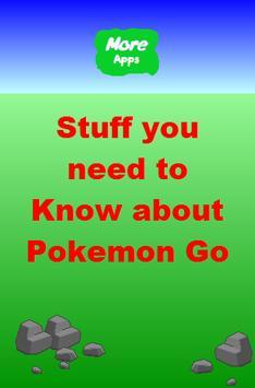 Tips for Pokemon Go poster