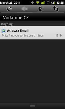 Atlas.cz Notifikator apk screenshot
