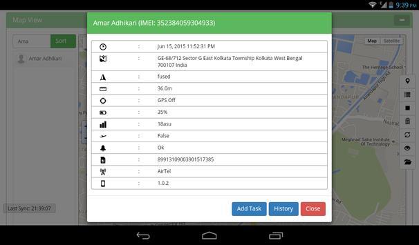 MOBtracky apk screenshot