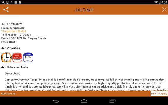 Employ Florida Mobile apk screenshot