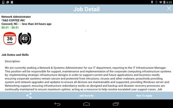 NC Works apk screenshot