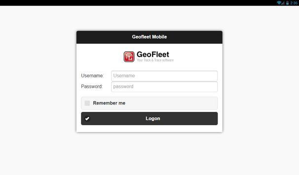 GeoFleet Mobile apk screenshot