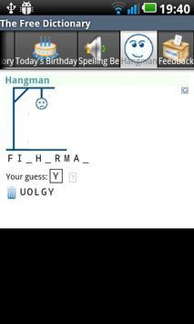 The Free Dictionary apk screenshot