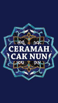 Ceramah Cak Nun poster