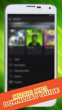 Mp3 Downloader Guide apk screenshot