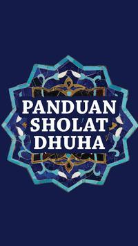 Panduan Sholat Dhuha Lengkap poster