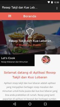 Resep Takjil dan Kue Lebaran poster