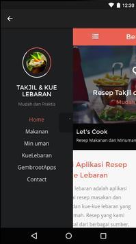 Resep Takjil dan Kue Lebaran apk screenshot