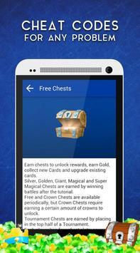 Cheats for Clash Royale apk screenshot