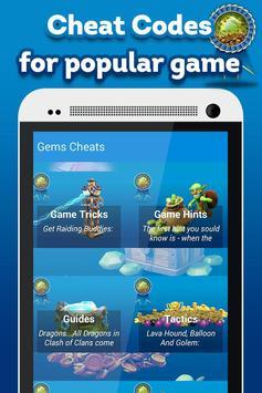 Gems Cheats poster