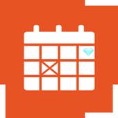 Diamond Calendar icon