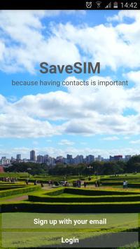 SaveSIM Phonebook Cloud Backup poster