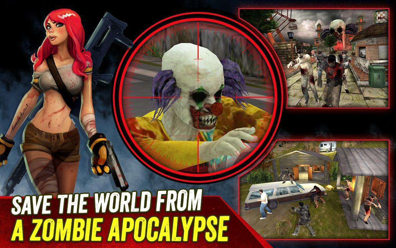 zombie hunter apocalypse apk download free action game