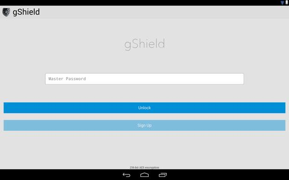 gShield Password Manager poster