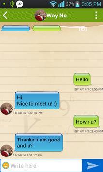 Quick Chat Facebook messenger+ poster