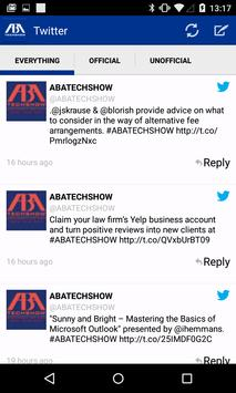 ABA TECHSHOW apk screenshot