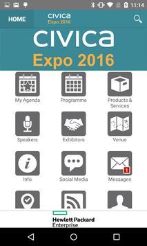 Civica Events apk screenshot