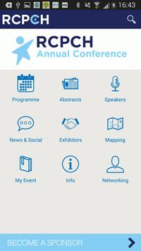 RCPCH 2015 Annual Conference poster
