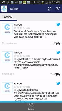 RCPCH 2015 Annual Conference apk screenshot