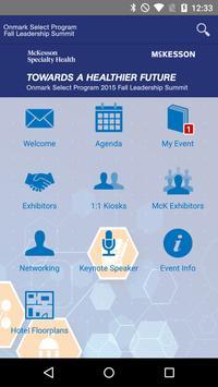 Onmark Leadership Summit poster