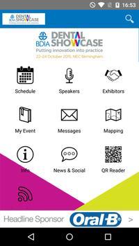 BDIA Dental Showcase 2015 poster