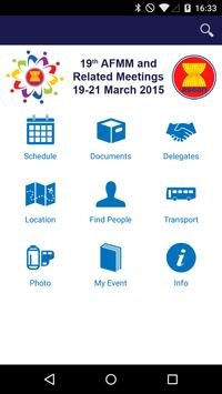 19th AFMM 2015 poster
