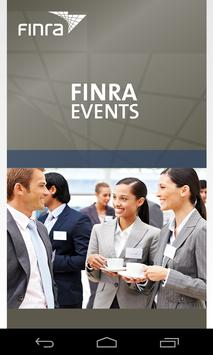 FINRA Events apk screenshot