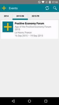 Positive Economy Forum 2015 poster