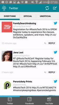RootsTech 2016 apk screenshot