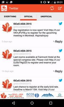 ISCOS ASIA 2015 apk screenshot