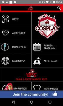 VIECC Vienna Comic Con poster