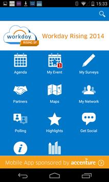 Workday Rising 2014 poster